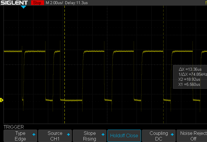 Signal output with mosfet-based driver