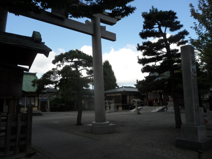 A pretty shrine in the same neighbourhood as the hostel I was staying in