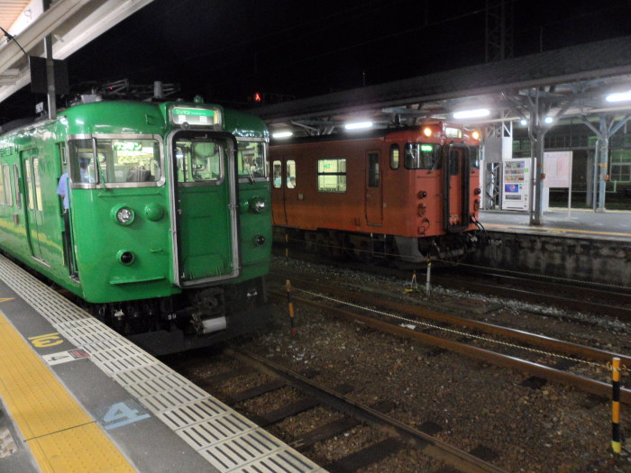From electric to diesel. The line segment the next service runs on will reach beyond the electrified section
